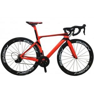 HQR23 Hidden Brake carbon fiber road bike frame